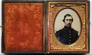 Unknown Crabtree Soldier ambrotype.