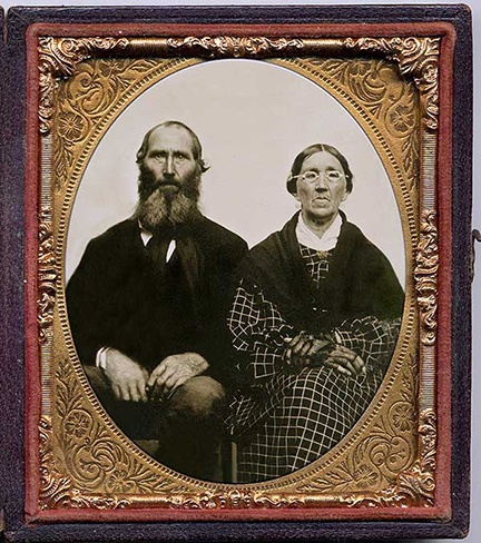 Tintype restored by Cal Bivens.