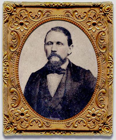 Leonard Gill 1860 or 1861.